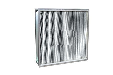 FL系列有隔板高效过滤器(铝隔板)